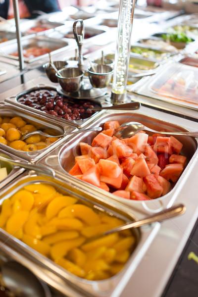 Stock photo: Food buffet in restaurant