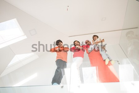 Group of mates having fun Stock photo © zurijeta
