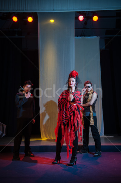Act play performance in theater Stock photo © zurijeta