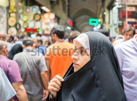 Souk market in Saudi Arabia Stock photo © zurijeta