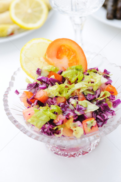 Fresh salad prepared Stock photo © zurijeta