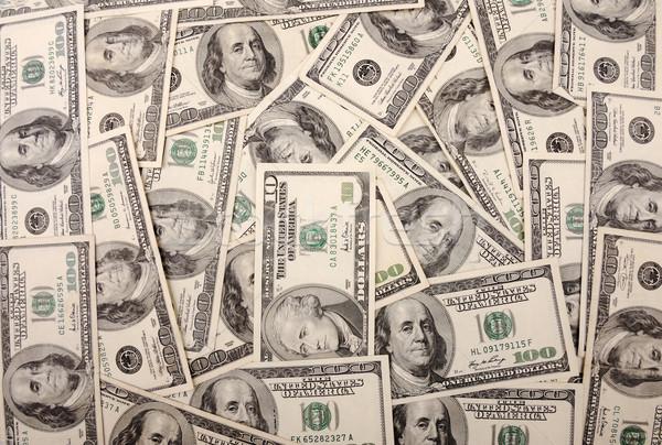 Dollár üzlet pénz papír textúra boldog Stock fotó © zurijeta