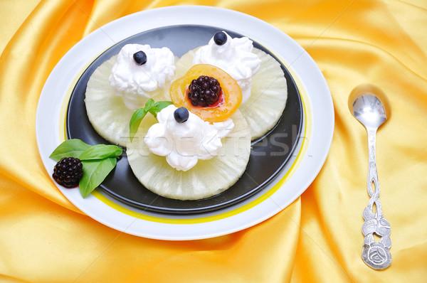 dessert Stock photo © zurijeta