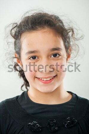 Jovem positivo adolescente traje de negócios negócio feliz Foto stock © zurijeta
