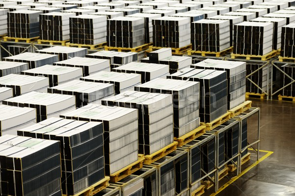 Impresión oficina industria muchos libros negocios Foto stock © zurijeta