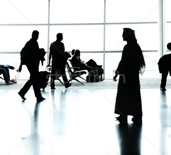 люди аэропорту небе тело Сток-фото © zurijeta
