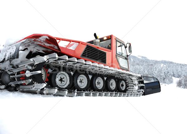 Snow vehicle Stock photo © zurijeta