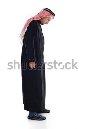 Arabic big and small, adult and child Stock photo © zurijeta