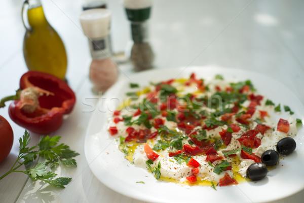 été organique cuisine légumes ingrédients Photo stock © zurijeta