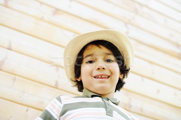 Szczęśliwy dzieci dzieciństwo cute dziecko Zdjęcia stock © zurijeta