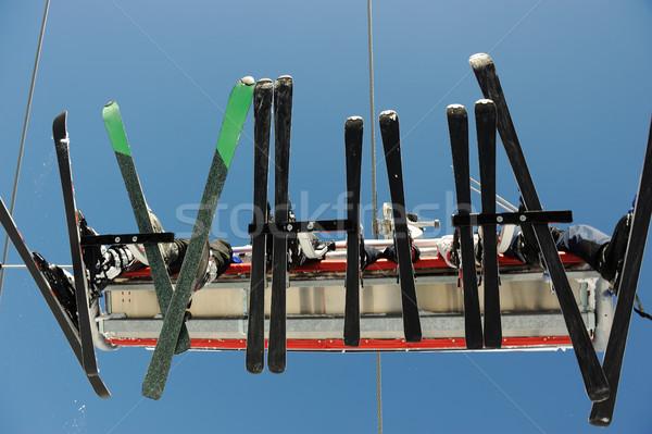 égbolt lift hordoz sport hegy tél Stock fotó © zurijeta