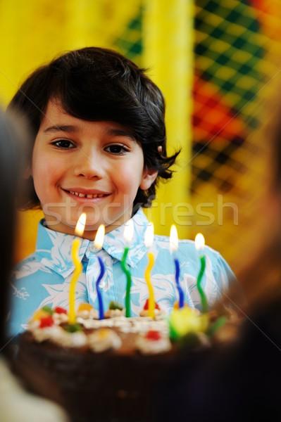 商业照片: 可爱 · 孩子们 · 庆祝 · 生日派对 · 操场 · 许多