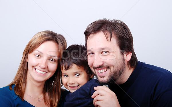 美しい 幸せな家族 幸せ 家族 子供 子供 ストックフォト © zurijeta