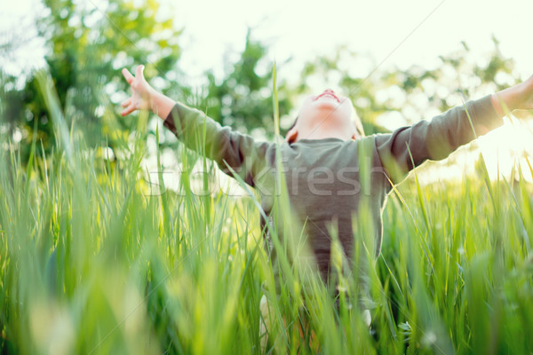 Excitement Stock photo © zurijeta