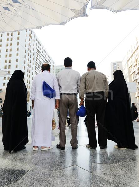 Makkah Kaaba Hajj Muslims Stock photo © zurijeta