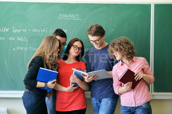 Youngsters studying Stock photo © zurijeta