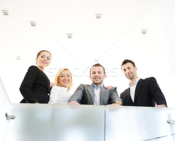 Foto d'archivio: Di · successo · uomini · d'affari · effettivo · ufficio · lavoro · business