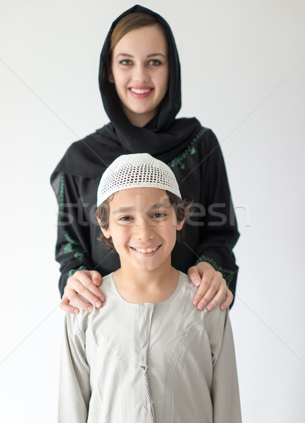 Mom and son Stock photo © zurijeta