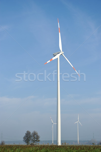 風力タービン ファーム 電気 太陽 緑 エネルギー ストックフォト © zurijeta