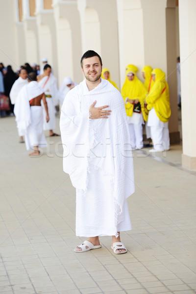 Musulmans vêtements prêt culte Photo stock © zurijeta