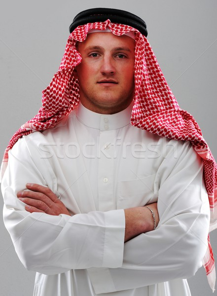 Middle Eastern man portrait Stock photo © zurijeta