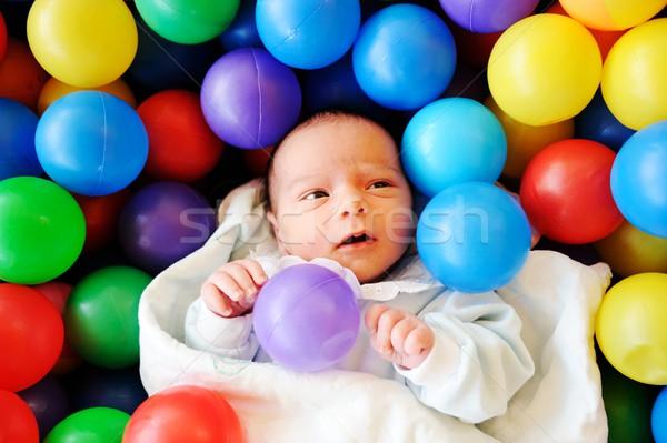 赤ちゃん いくつかの 古い 新生活 ストックフォト © zurijeta