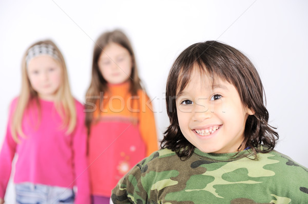 Group children Stock photo © zurijeta