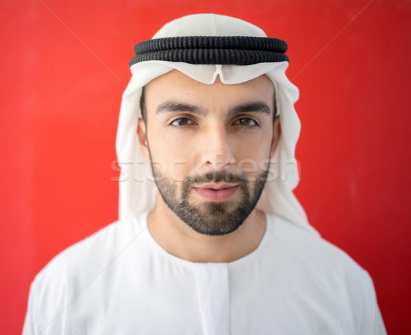 Arabic man from Emirate of Dubai Stock photo © zurijeta
