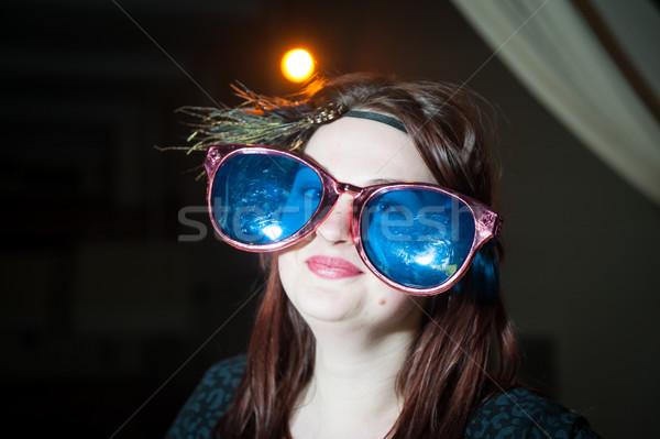 Handelen spelen prestaties theater muziek meisje Stockfoto © zurijeta