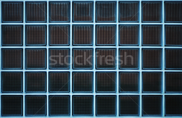 Strange and nice background, glass cubes Stock photo © zurijeta