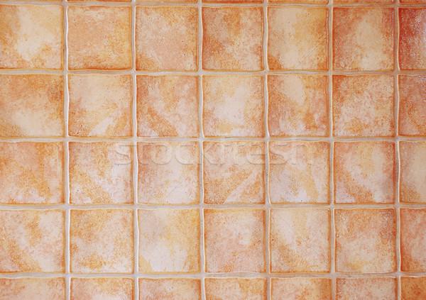 Interessant patroon vorm muur stedelijke retro Stockfoto © zurijeta