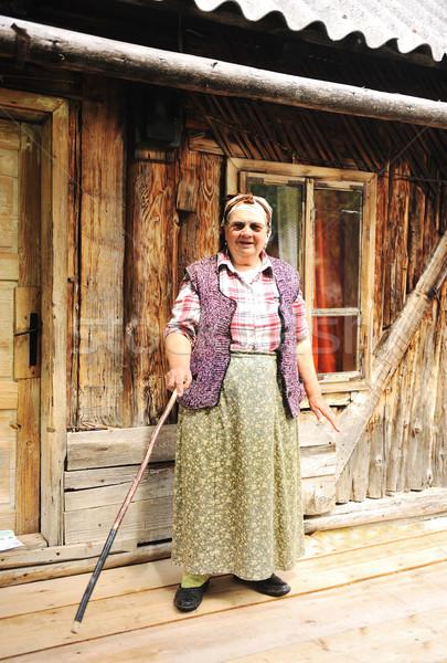 Senior aged woman  Stock photo © zurijeta