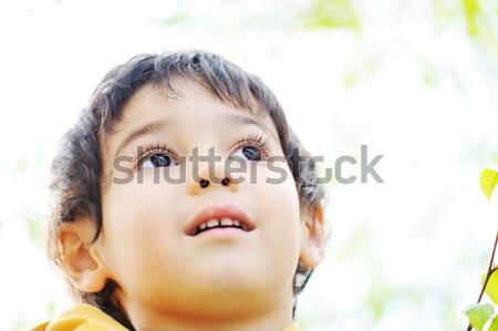 子供 自然 子 健康 フィールド ストックフォト © zurijeta