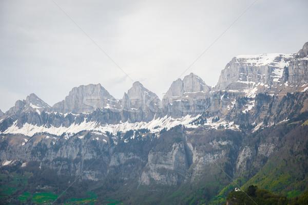 Swiss mountains Stock photo © zurijeta