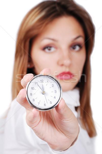 Time's up! - The last moment Stock photo © zurijeta