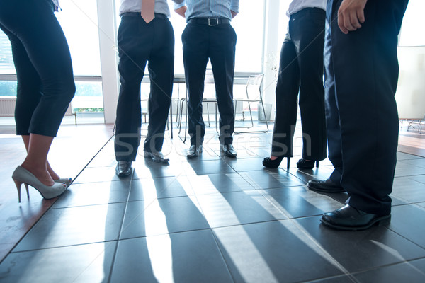 Low section of a group of businessmen Stock photo © zurijeta