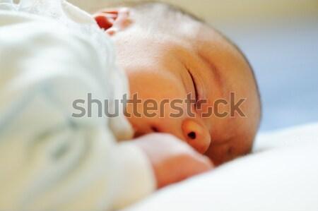 Newborn baby Stock photo © zurijeta