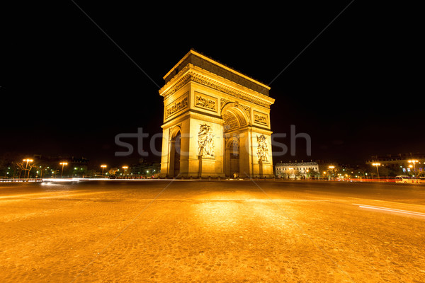 Arc de triumph Stock photo © zurijeta