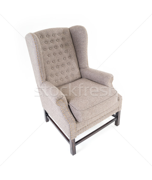 Sofa isolated on white Stock photo © zurijeta
