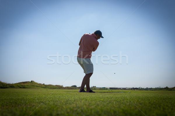 Spelen golf club natuur zomer groene Stockfoto © zurijeta