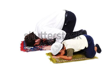 Muslim worship activities in Ramadan holy month Stock photo © zurijeta