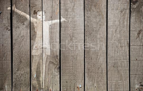 Girl background Stock photo © zurijeta