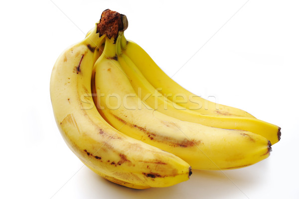Banán gyümölcs háttér banán stúdió három Stock fotó © zurijeta