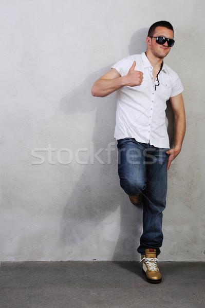 Zdjęcia stock: Młodych · macho · człowiek · inny · zdjęć · świetle