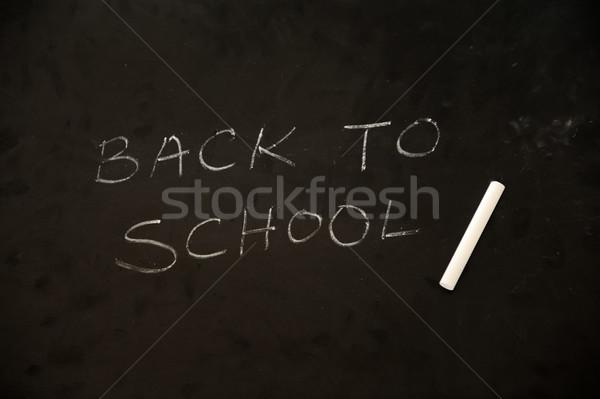 Education activities in classroom at school, happy children learning Stock photo © zurijeta