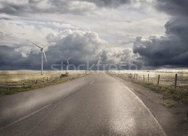 Abstract road Stock photo © zurijeta