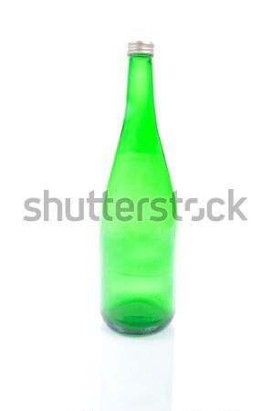 Green bottle isolated Stock photo © zurijeta
