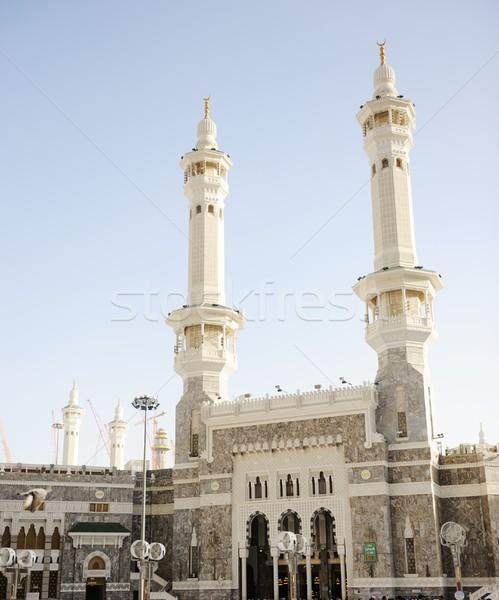 Około świat modląc Arabia Saudyjska boga Zdjęcia stock © zurijeta