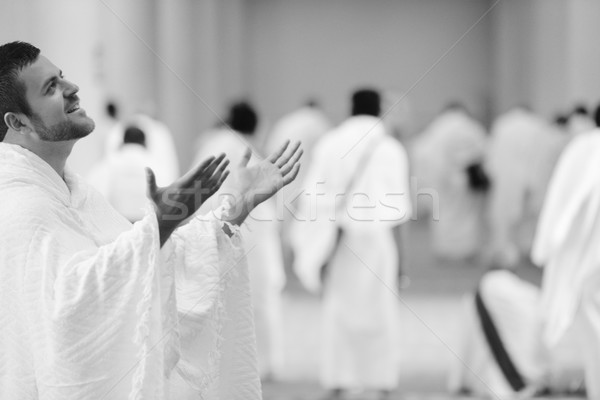 Muslim indossare vestiti pronto culto Foto d'archivio © zurijeta
