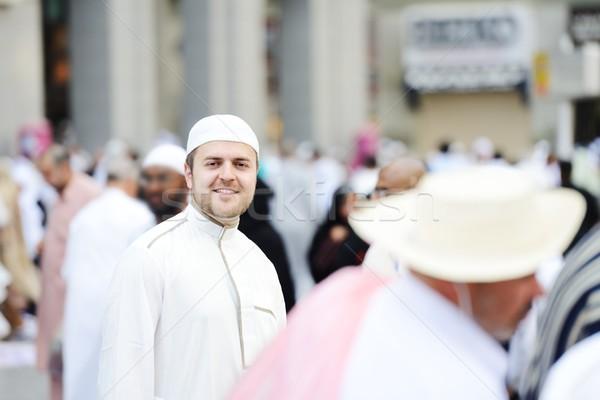 Muslim Arabic man Stock photo © zurijeta